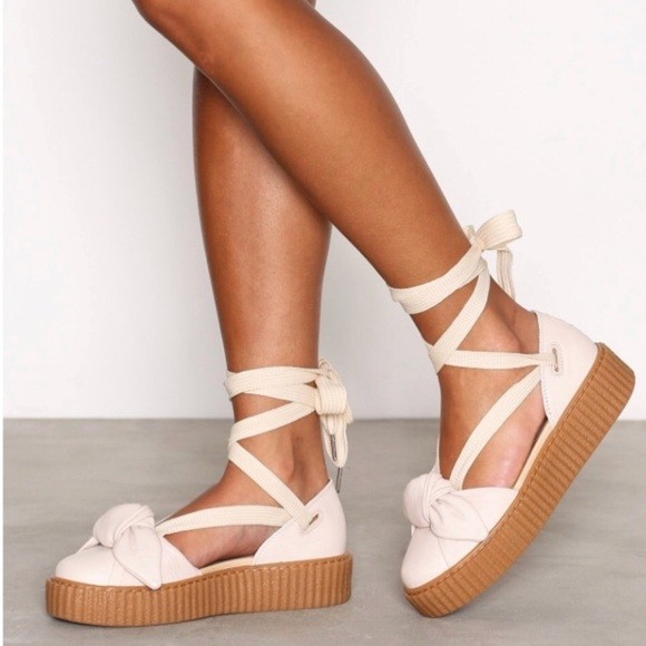 Rihanna Creeper Bow Sandal | Poshmark